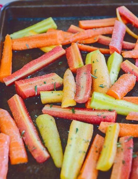 Honey Glazed Root Vegetables