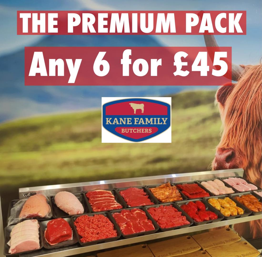 The Premium Pack - 6 for £45
